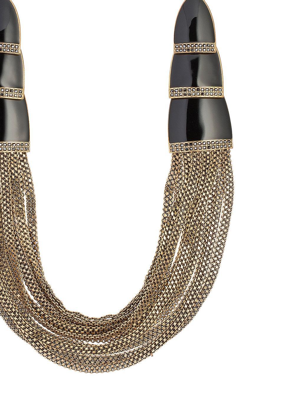 Camila Klein Correntária long necklace - Metallic vrZZiiSUr3