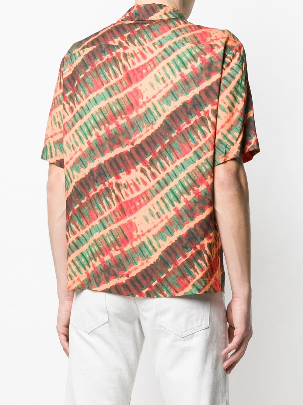 Missoni - Orange Tie-dye Short Sleeve Shirt for Men - Lyst. View fullscreen de89f69ef
