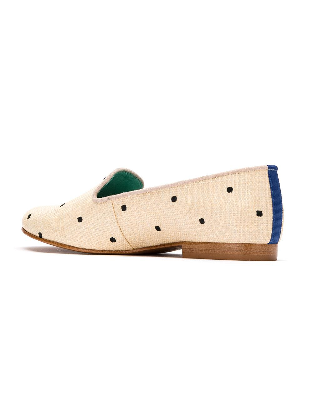 embroidered slippers - Nude & Neutrals Blue Bird Shoes Idv6JN
