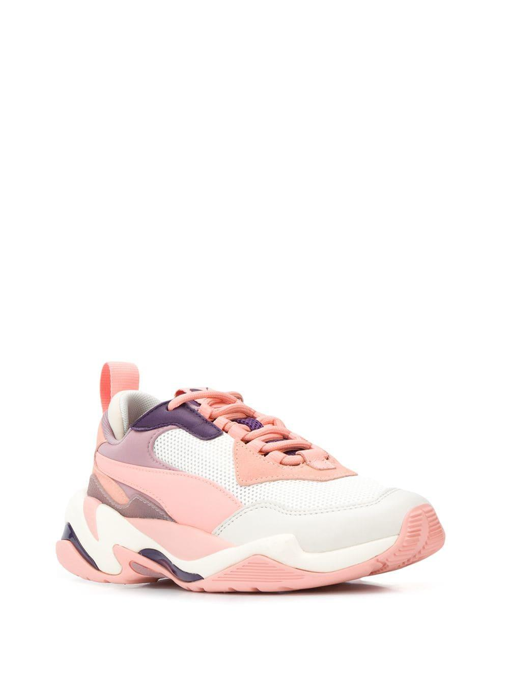 85877601996 Lyst - PUMA Thunder Electric Trainers in Pink