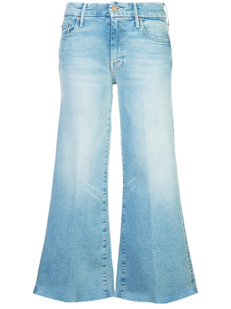 cropped bootcut jeans - Blue Mother Cheap Sale New Discount 2018 Newest Best Wholesale For Sale Clearance Footaction nJdM4Jg8