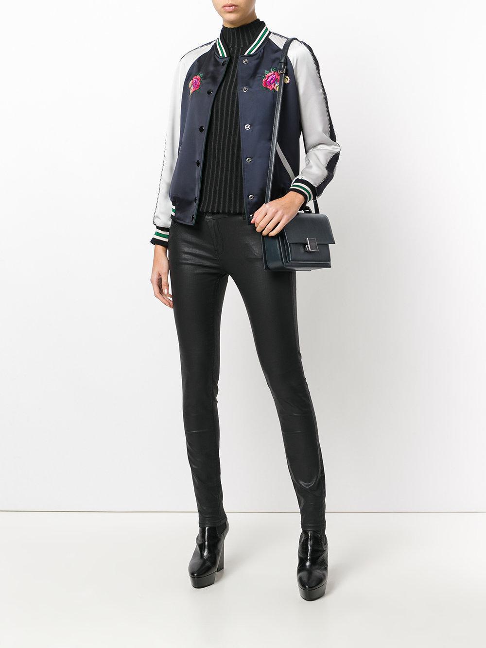 Discounts Sale Online Bellechasse shoulder bag - Blue Saint Laurent Cheap Sale Shop WHeQc4Y1