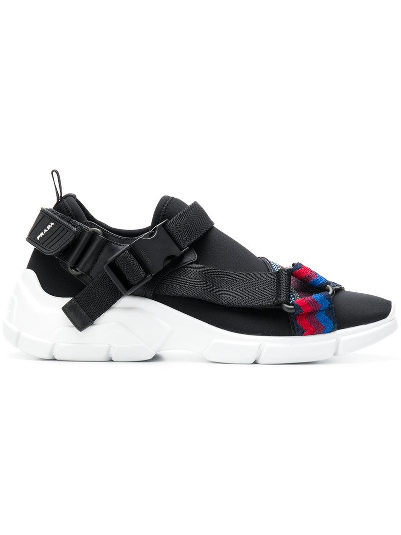 Prada Buckled runner sneakers Jk4ky