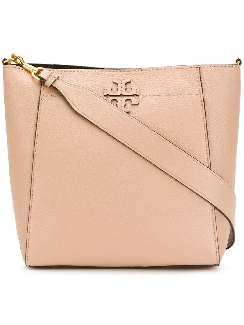 facdfcd3964e Lyst - Tory Burch Mcgraw Hobo Bag in Pink