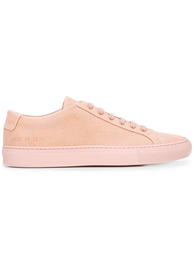 lace-up sneakers - Pink & Purple Common Projects 2R2eEFBKEp