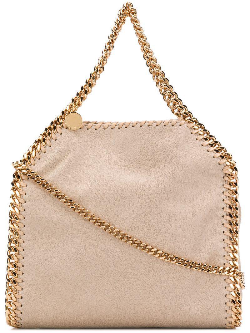 Stella Mccartney Mini Bella Bag in Natural - Lyst f53012df0a124
