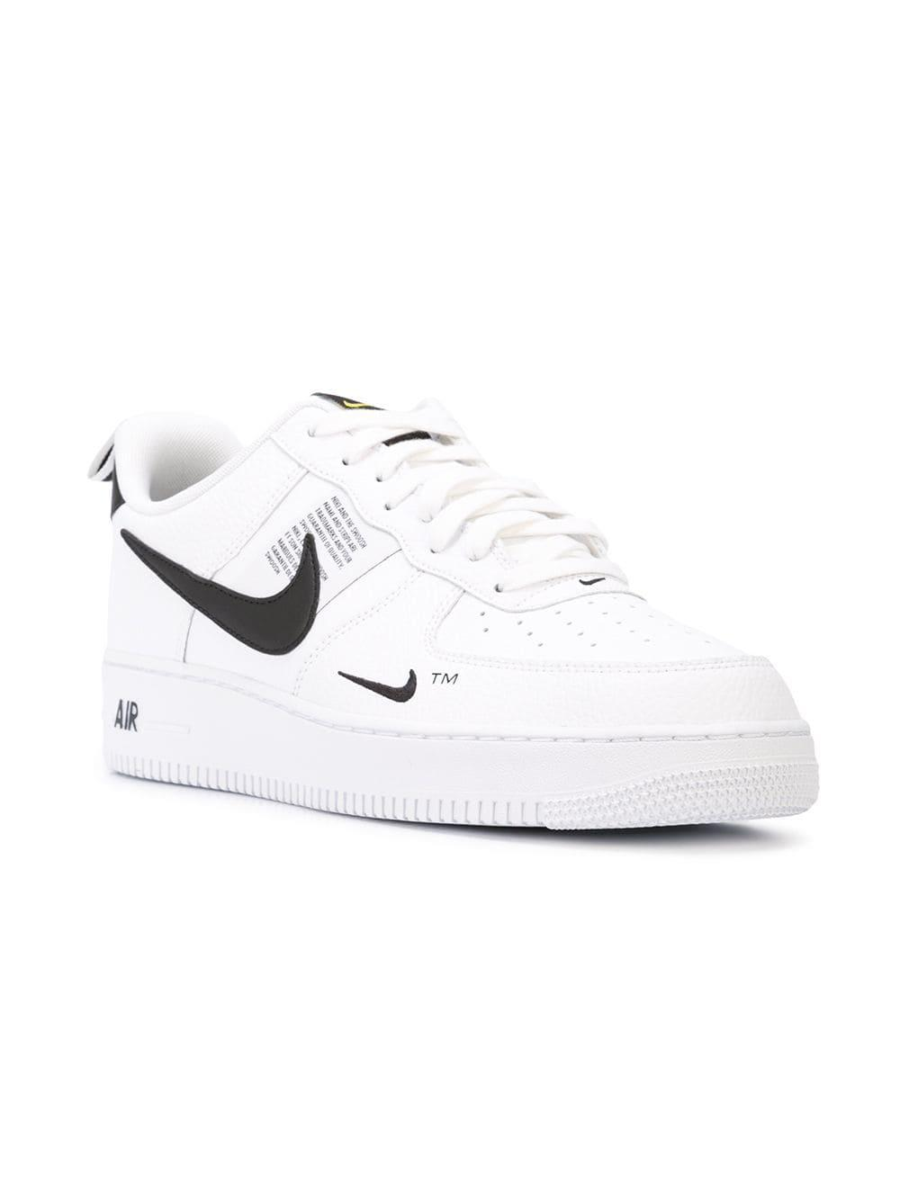 e773bf3ca637aa Lyst - Nike Air Force 1  07 Lv8 Sneakers in White for Men