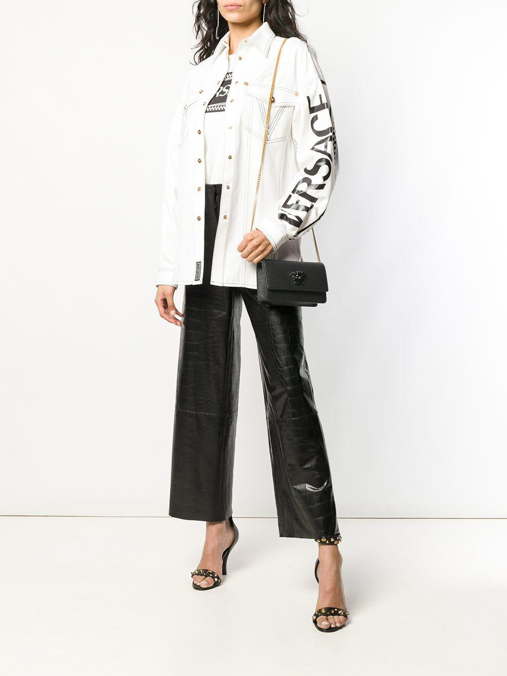 Versace - Black Medusa Head Clutch Bag - Lyst. View fullscreen d27eb9472e
