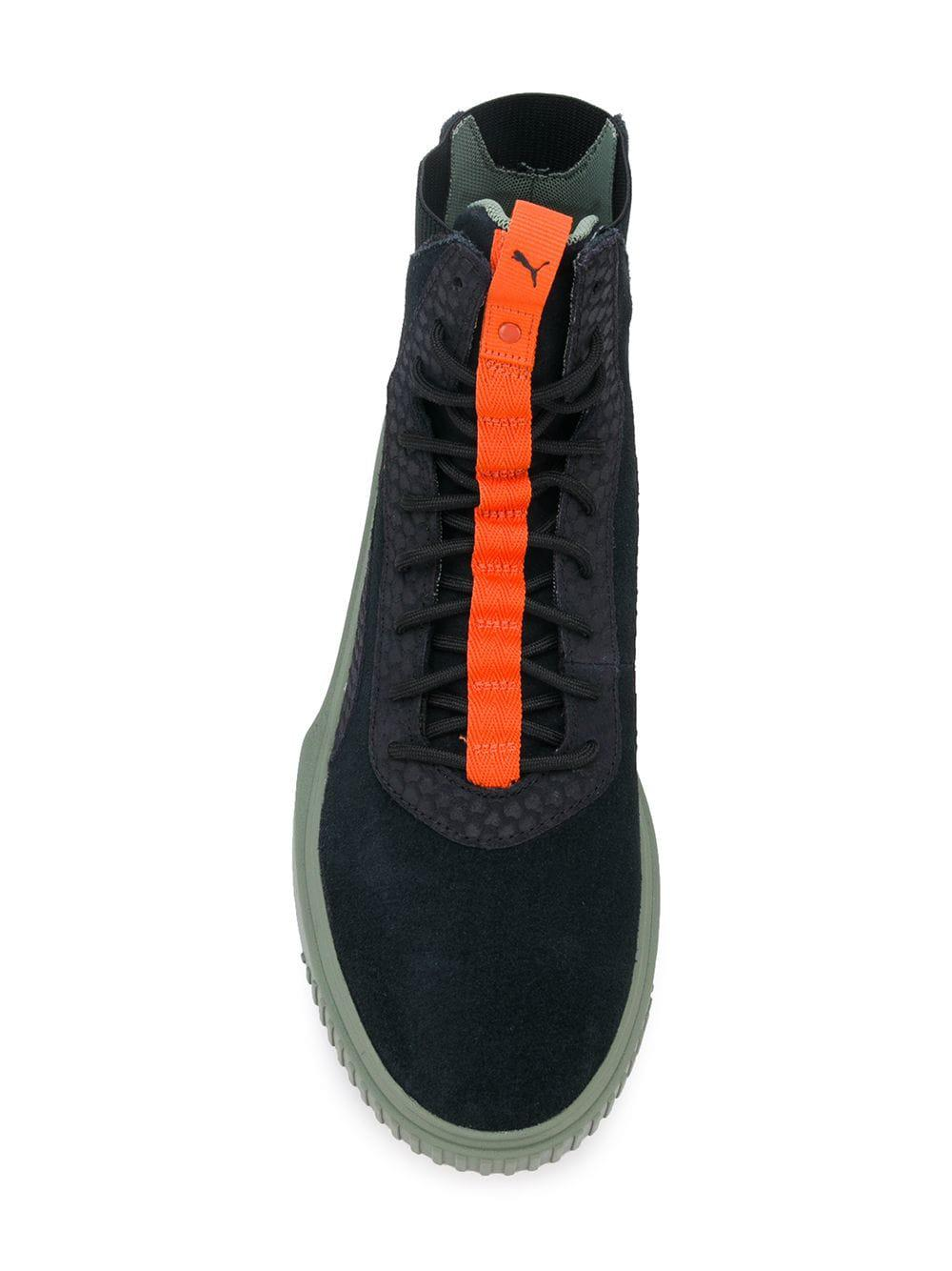 55596de28cd PUMA - Black Breaker High-top Sneakers for Men - Lyst. View fullscreen