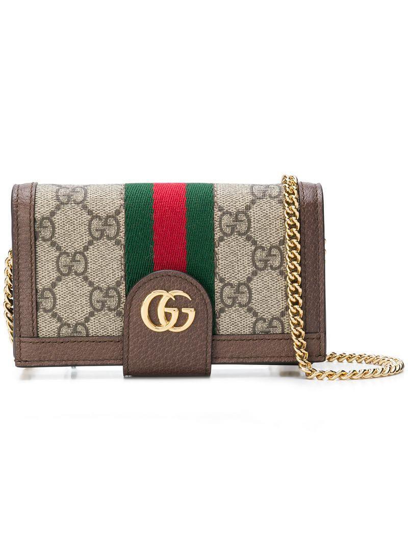 Gucci. Funda iPhone 7 de mujer de color marrón 6415a60c0b2