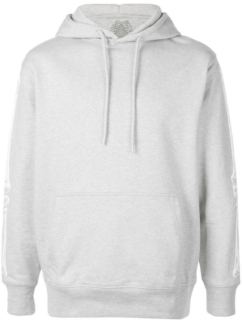 748d12a375a0 Palace Sleeve Print Hoodie in Gray for Men - Lyst