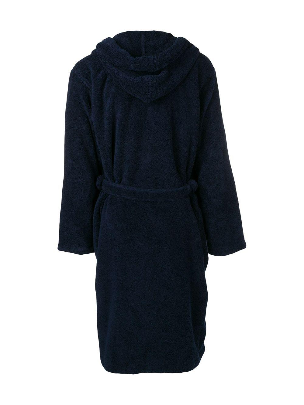 ... Logo Embroidered Toweling Robe for Men - Lyst. View fullscreen 2cd233661