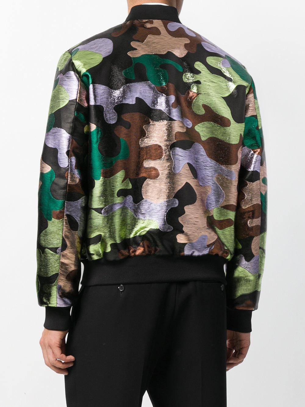 for Blazer Lyst Save Dsquared² Metallic Men Patterned Camouflage qOxxPSwFg