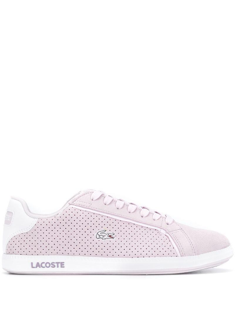 bcd179a2e Lacoste - Pink Graduate Low-top Sneakers - Lyst. View fullscreen
