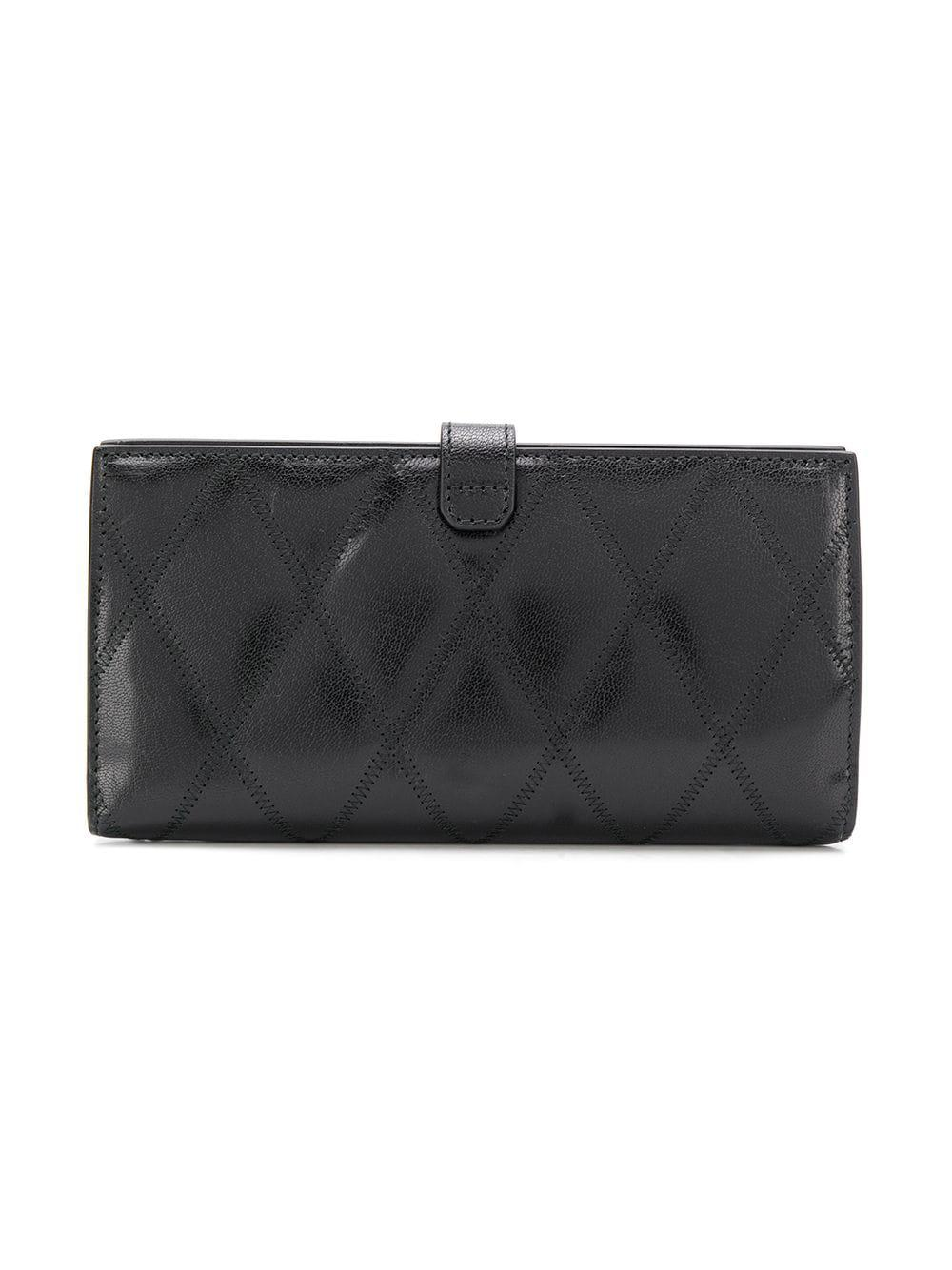 38518e2a4a24 Lyst - Givenchy Gv3 Long Wallet in Black