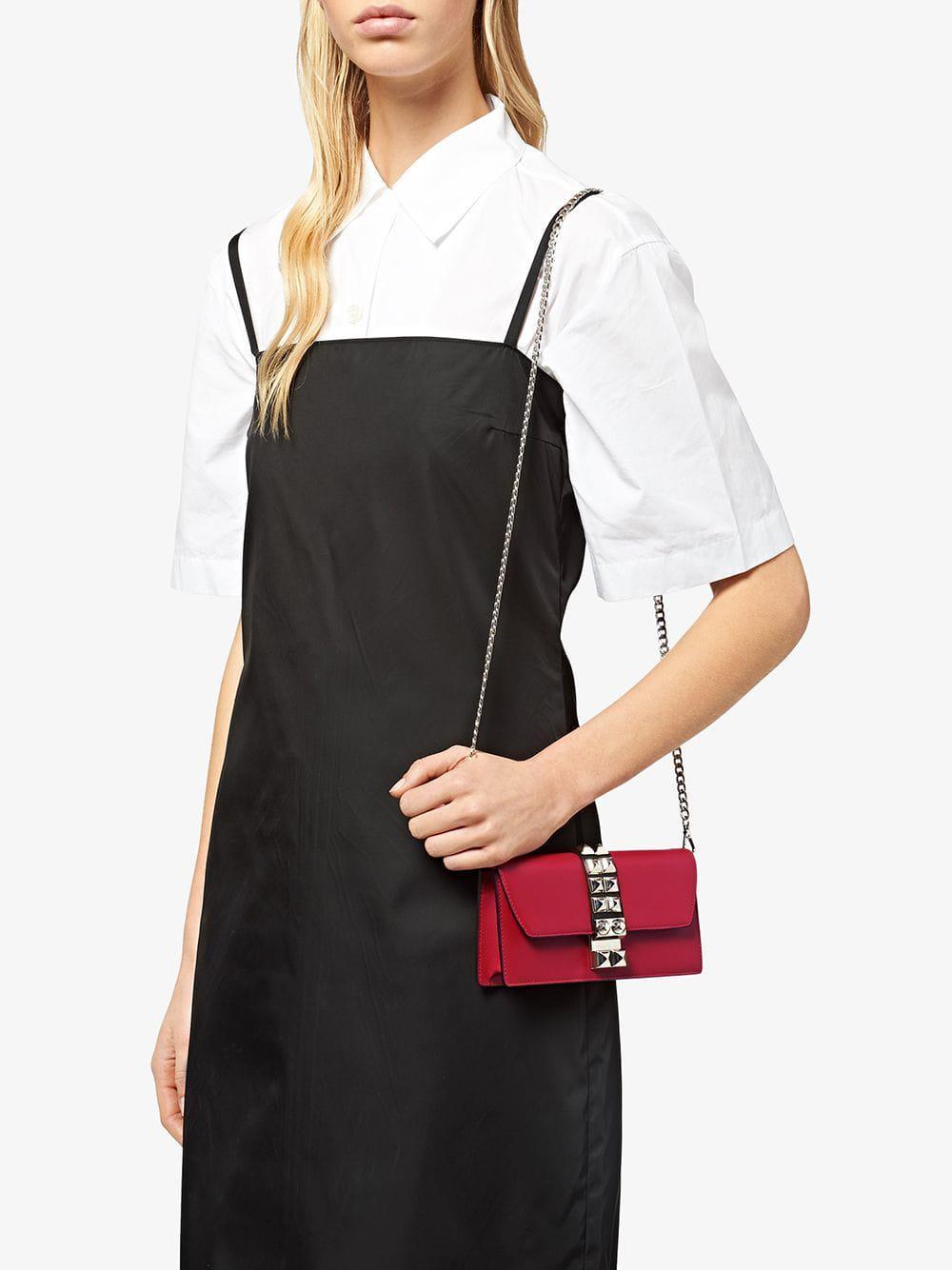 30f6dc4b7d Prada Elektra Mini-bag in Red - Lyst