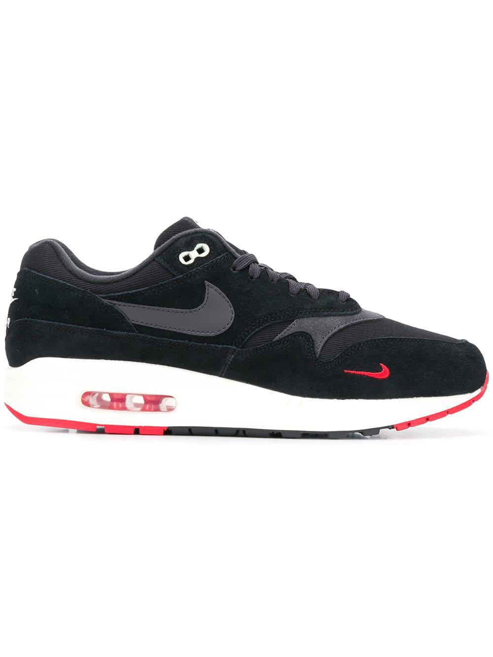 Lyst Nike Air Max 1 Premium Scarpe da Uomo Ginnastica in Nero for Uomo da 29eafd
