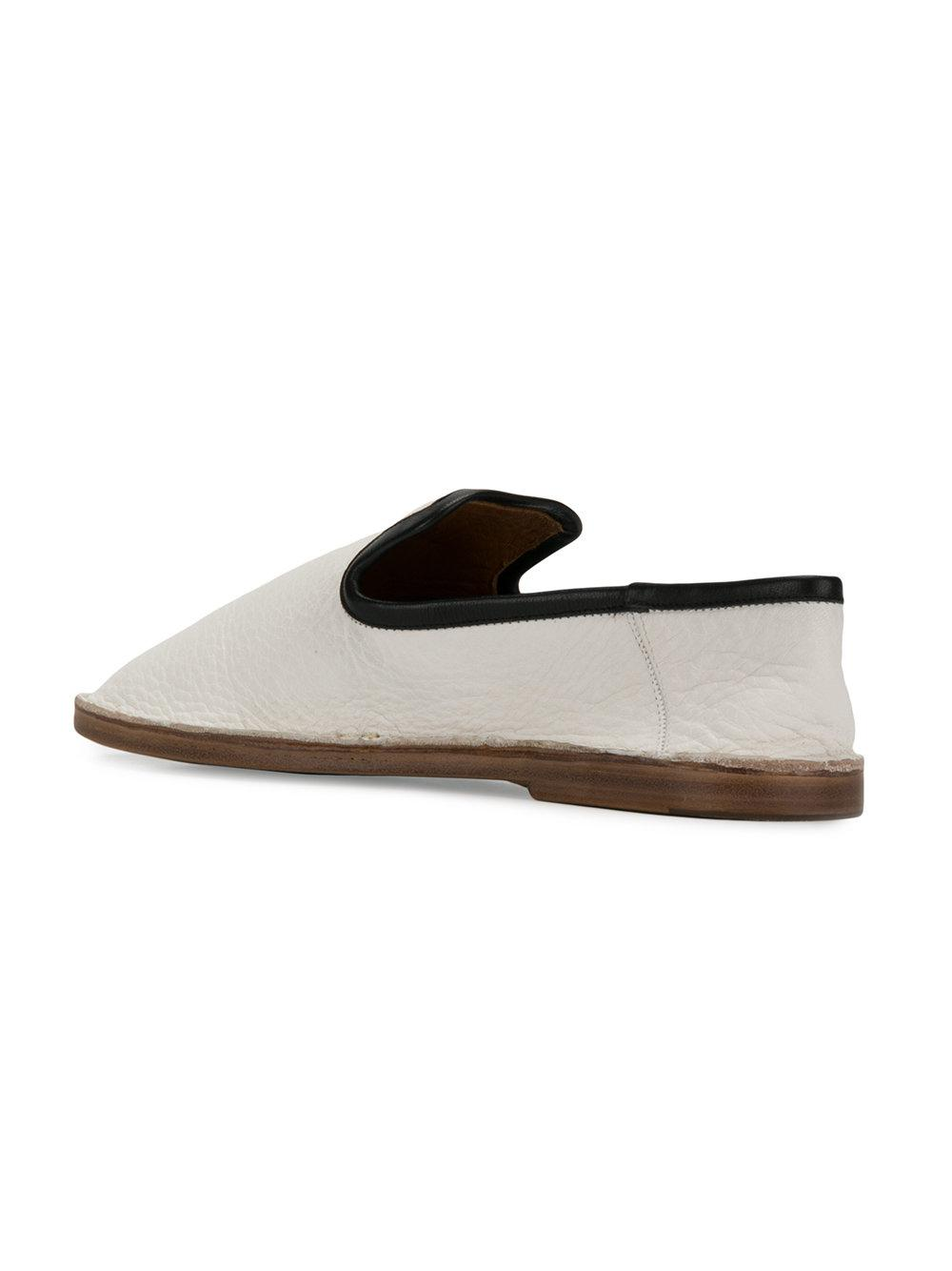 smooth slip-on loafers - White Joseph BvWnBFh94