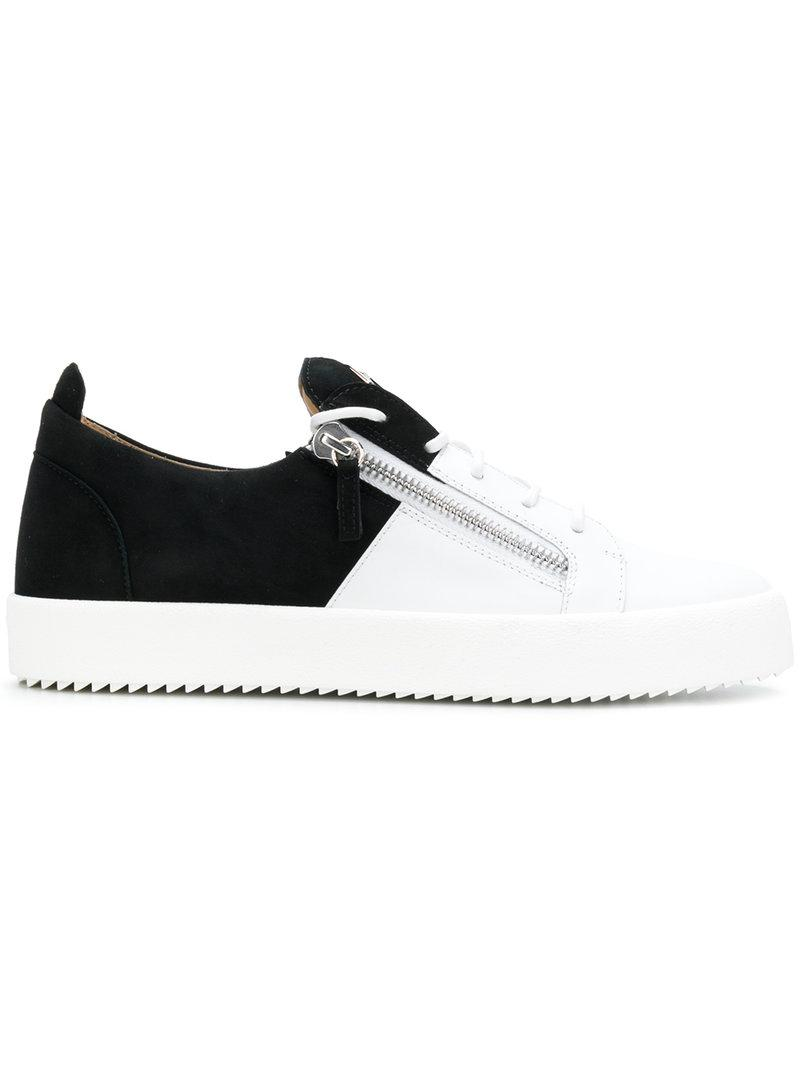 b0ed0e08852 Lyst - Giuseppe Zanotti Bicolour May London Sneakers in White for ...