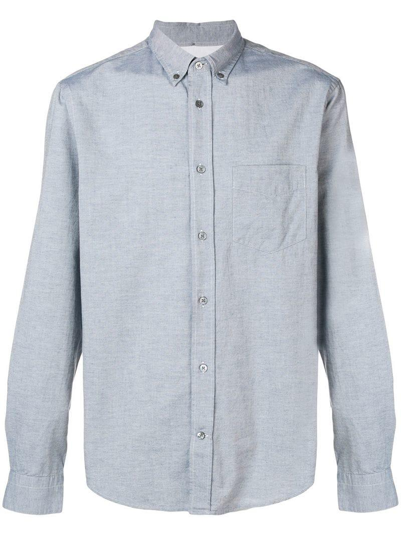 c832ad5323 Acne Isherwood Chambray Shirt in Blue for Men - Lyst