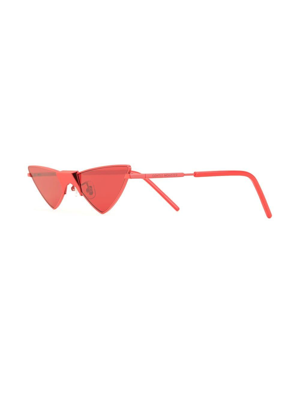 a5f1397176ba Gentle Monster Ribbon Sunglasses in Red - Lyst