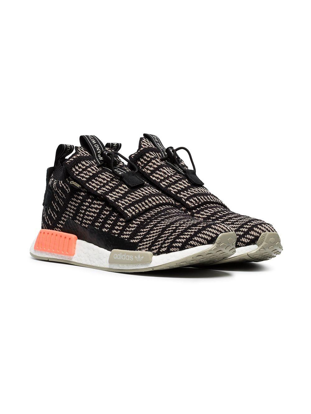 brand new 3ad61 956e8 Adidas - Black And Beige Nmd Ts1 Primeknit Gtx Sneakers for Men - Lyst.  View fullscreen