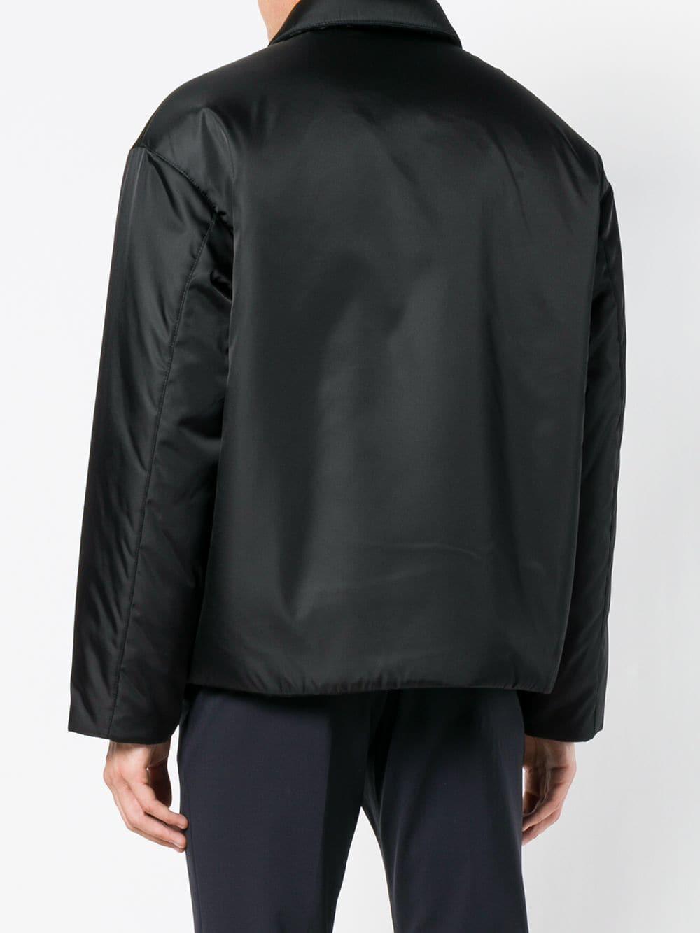 a5474ddd7e09 Lyst - Prada Classic Jacket in Black for Men