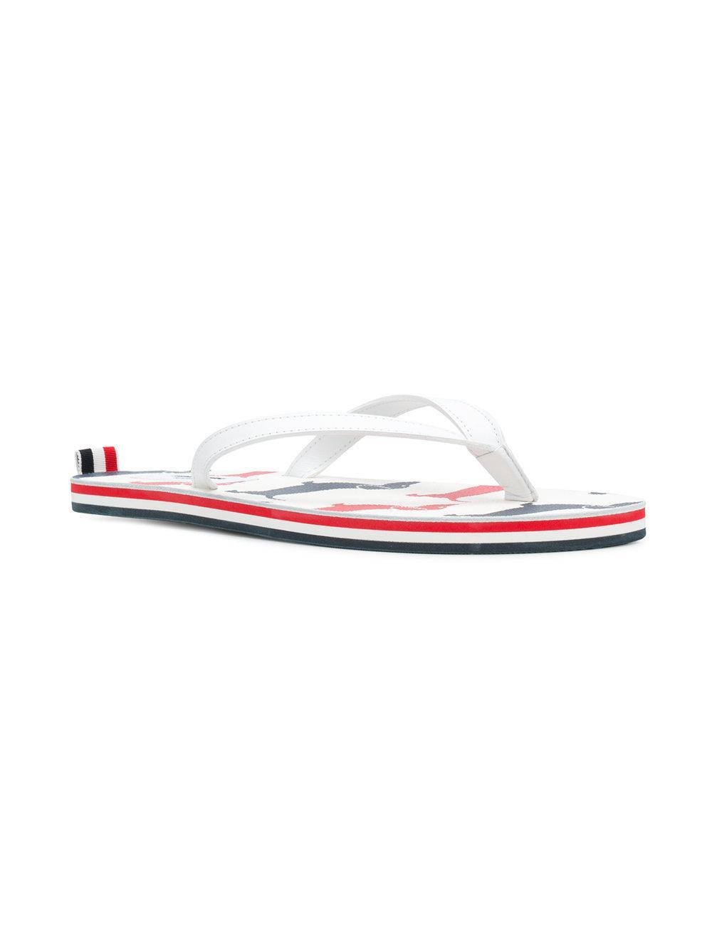 Hector flip flops - Multicolour Thom Browne G9WYQna9O