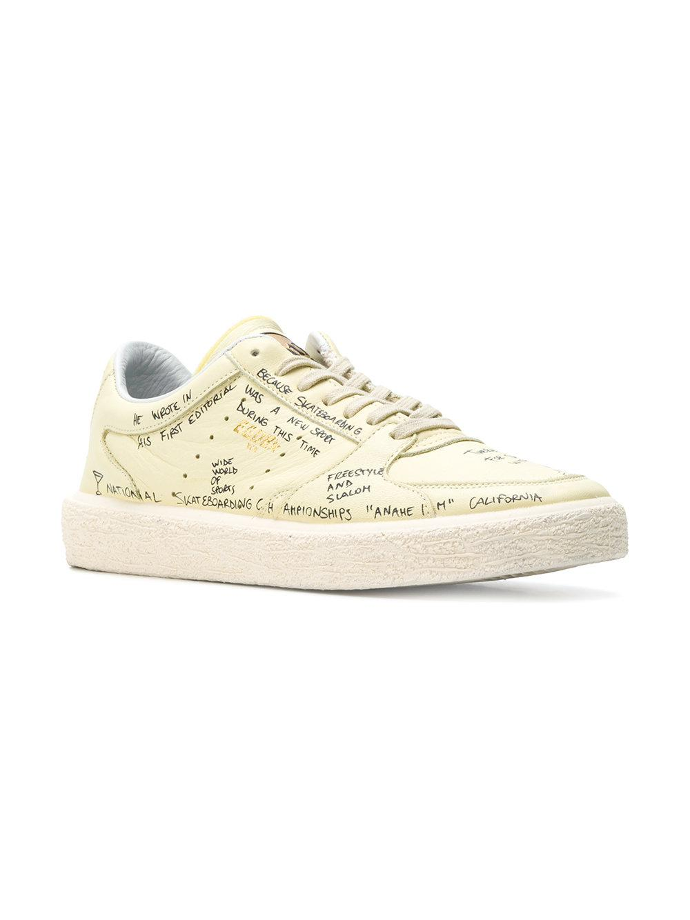 Tenthstar sneakers - Yellow & Orange Golden Goose 90V8Yw6