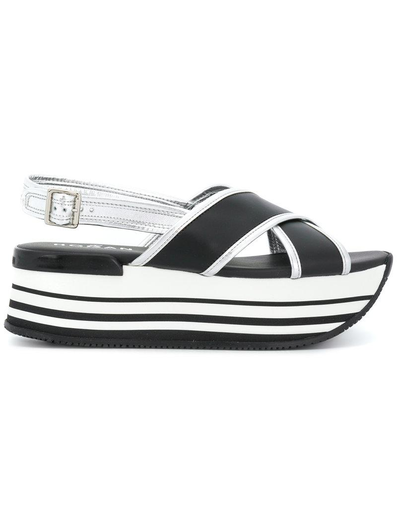 slingback sandals - Black Hogan Cheap Outlet Store Clearance Store Cheap Price Buy Cheap Exclusive Sale Shop For Cheap Sale 2018 New jrcXMb
