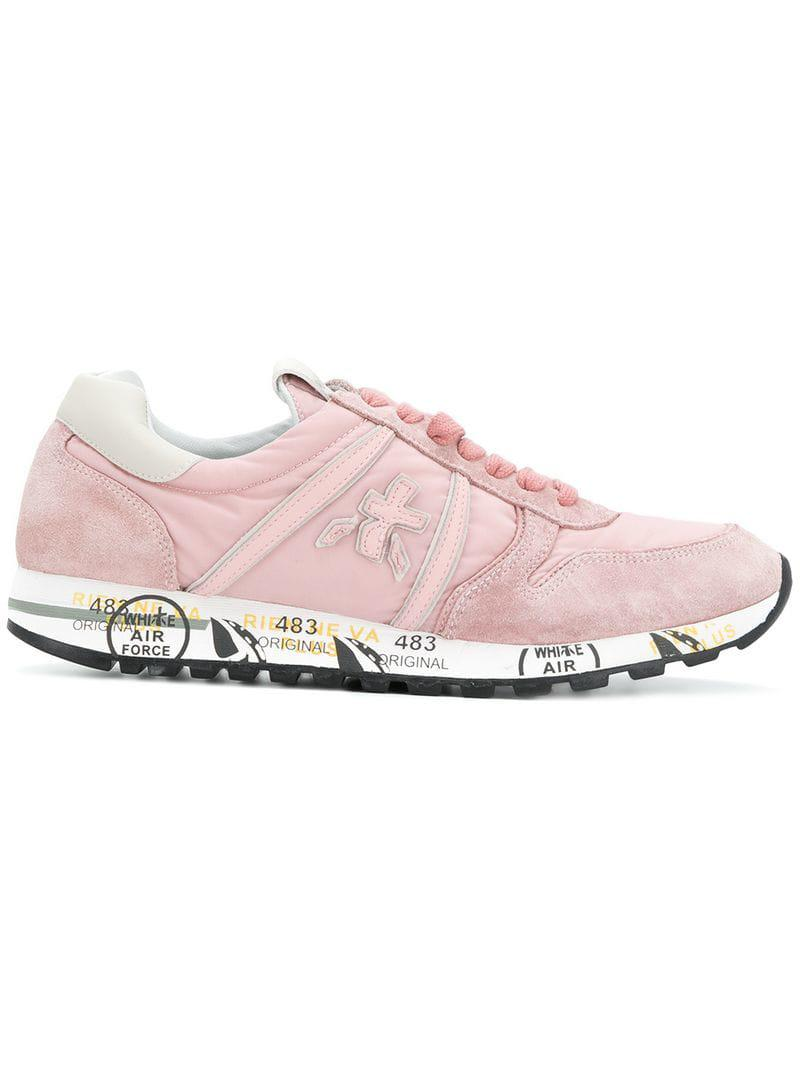 Up Pink 56140350877193 Sneakers Lace Premiata Lyst 64 Save In 7aq4gHxOw 7f8f259c224a