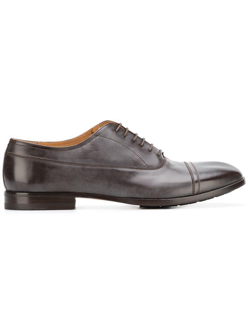 Maison Margiela Classic Derby Shoes in Brown for Men - Lyst c06052d66c8