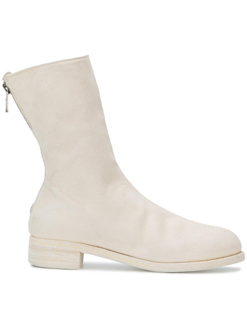 Micha ankle boots - White Guidi OALWfXW