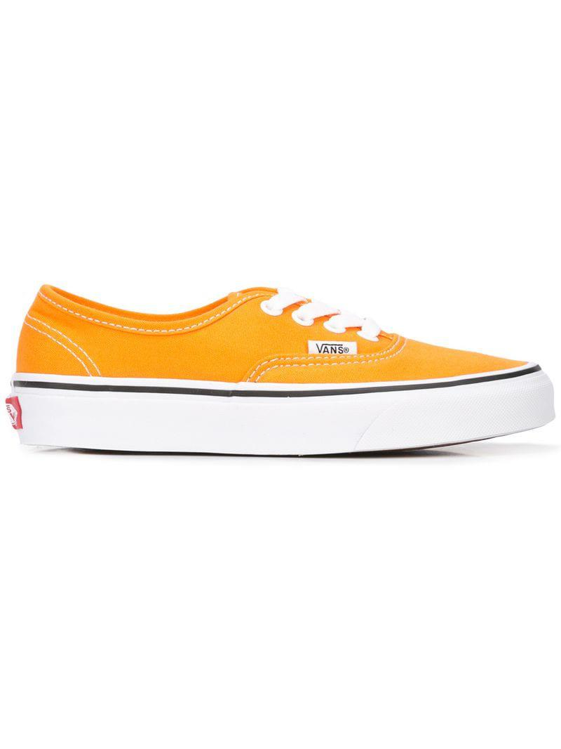 91d5fb0013642a Vans Skateboarding Sneakers in Orange for Men - Lyst