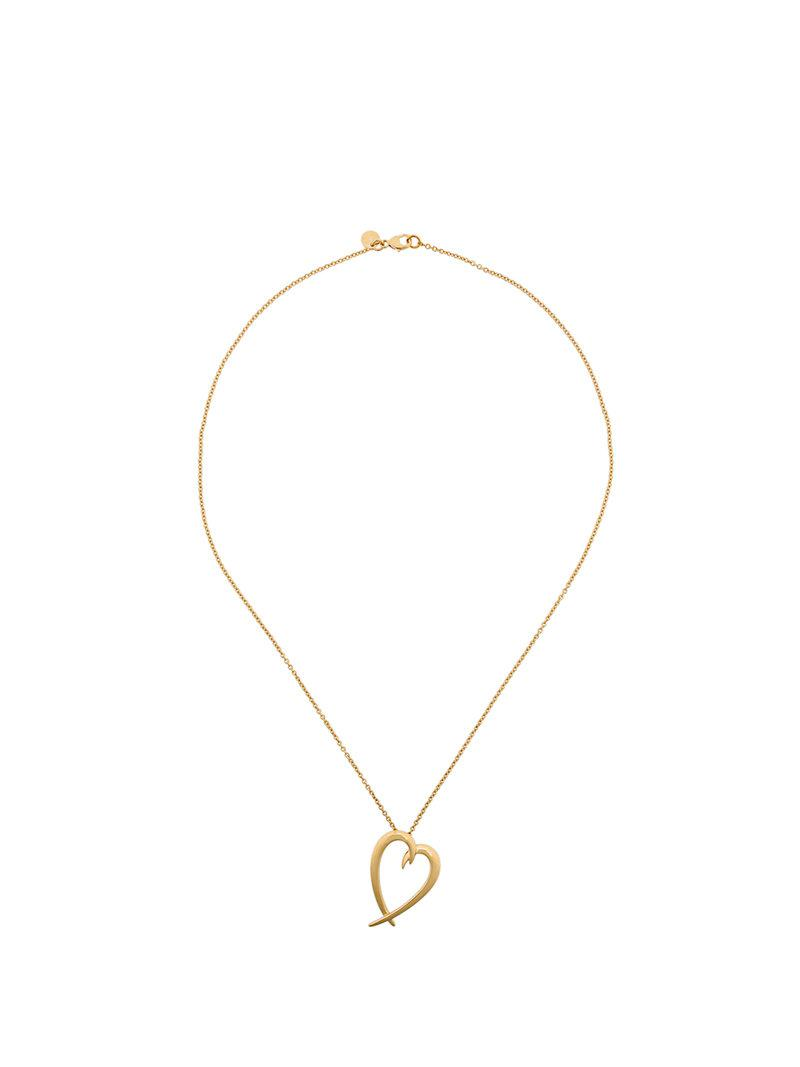 Shaun Leane signature Tusk Heart necklace - Metallic p5ewTExDH