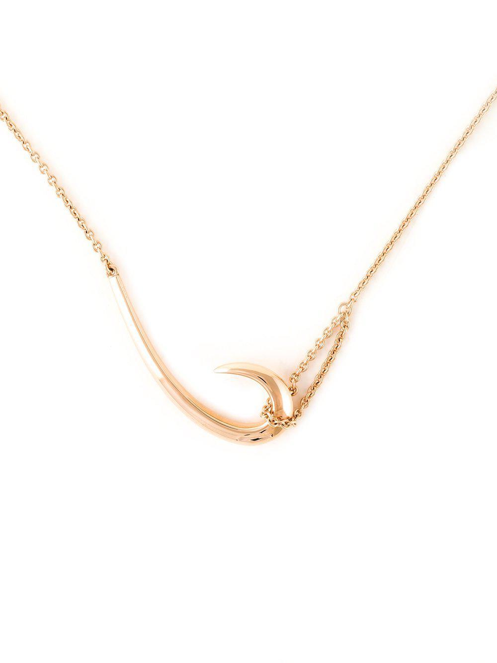 Shaun Leane Signature Tusk hook necklace - Metallic fpUSclW839