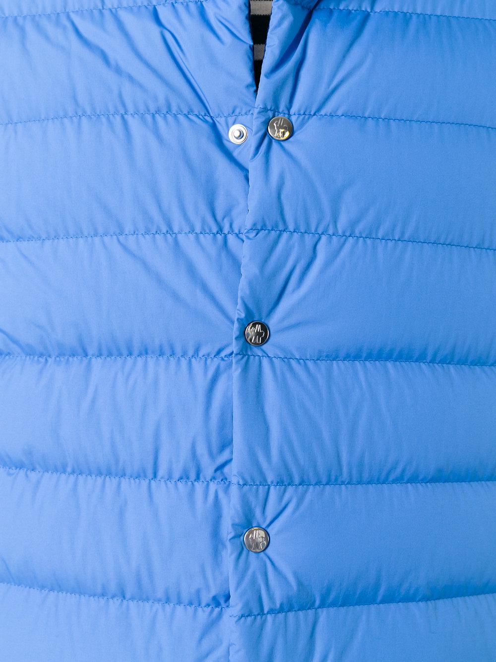 434e276c7 Moncler Cyclope Padded Jacket in Blue for Men - Lyst