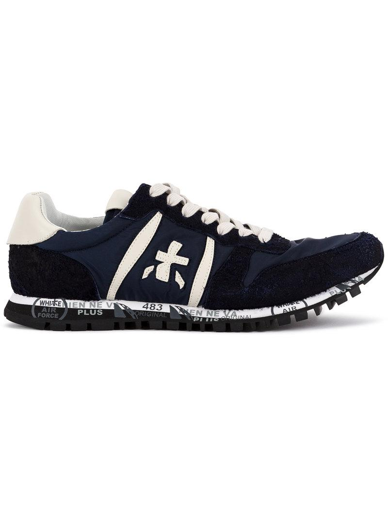 lace-up sneakers - Blue Premiata Clearance Shop Offer Clearance High Quality Cheap Fast Delivery Cut-Price Discount Great Deals jakaIKNb