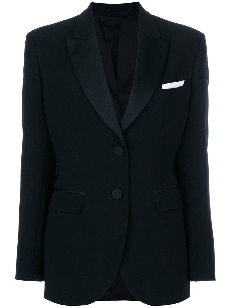 Lyst neil barrett tuxedo jacket in black for Neil barrett tuxedo shirt