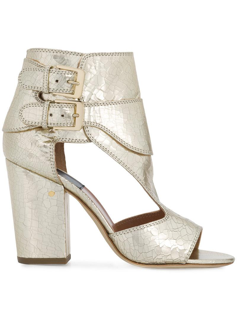 Rush buckled sandals - Metallic Laurence Dacade E9of91L1V