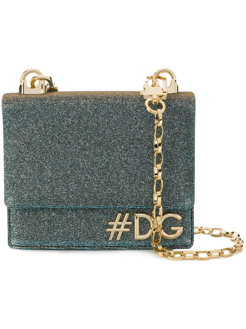 Dolce & Gabbana Filles Dg Pochette - Métallique Faible Frais D'expédition Pas Cher En Ligne Liquidation Usine Nouvelle Visite Pas Cher PuEFSL