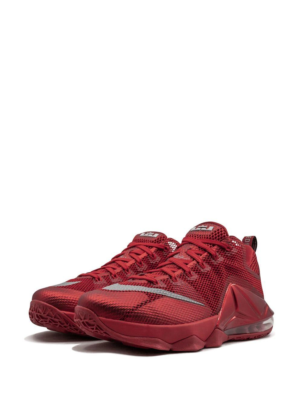 on sale cef3d df806 Nike Lebron 12 Low Ep Sneakers in Red for Men - Lyst