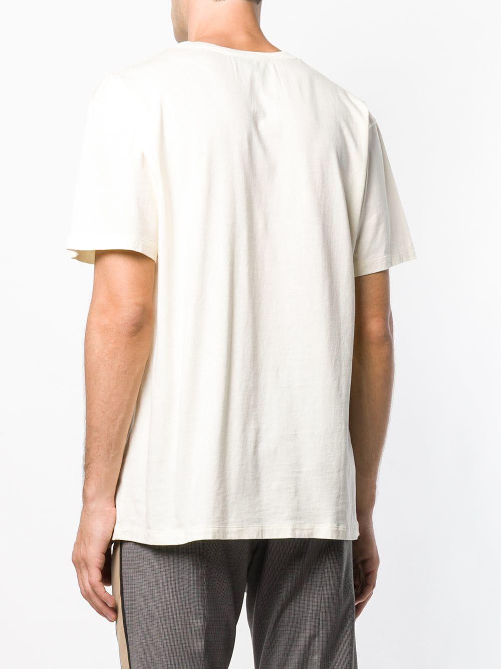 ba8572dd Lyst - Gucci Front Logo T-shirt for Men