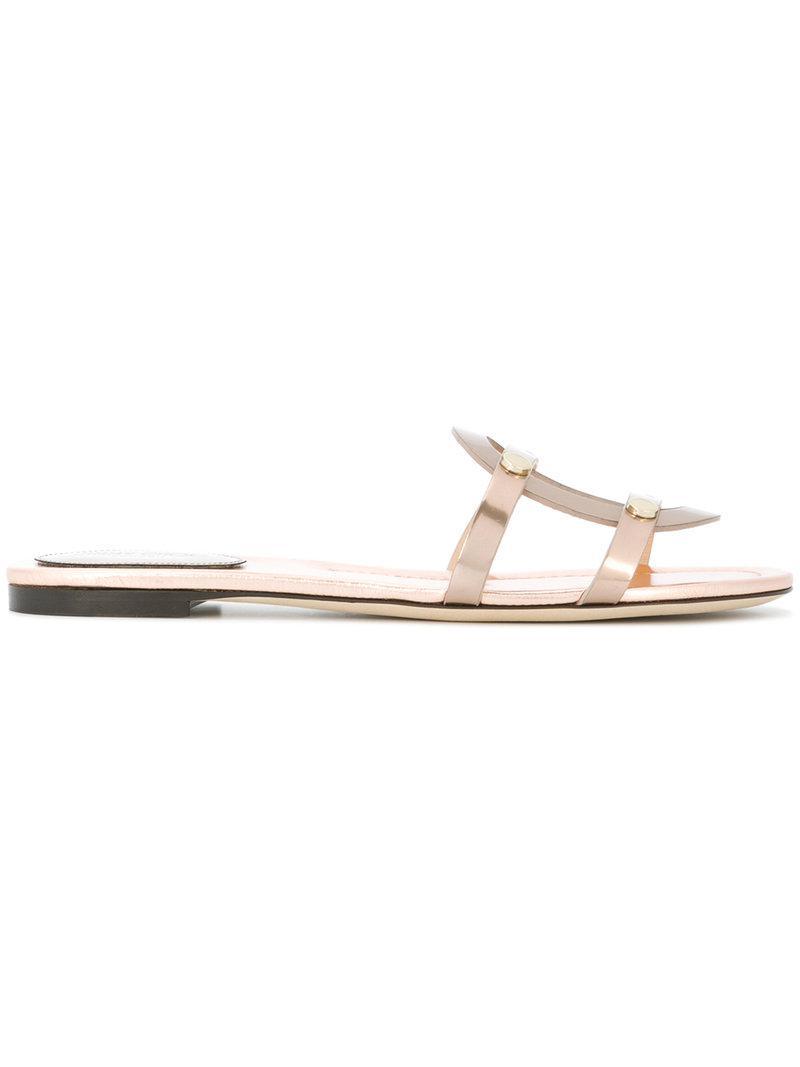 Espacio Libre En Línea Amazon Jimmy Choo Gretchen flat slippers - Black farfetch Pelle Mejor Línea Al Por Mayor Original Llegar A Comprar A La Venta F4oqgNAj