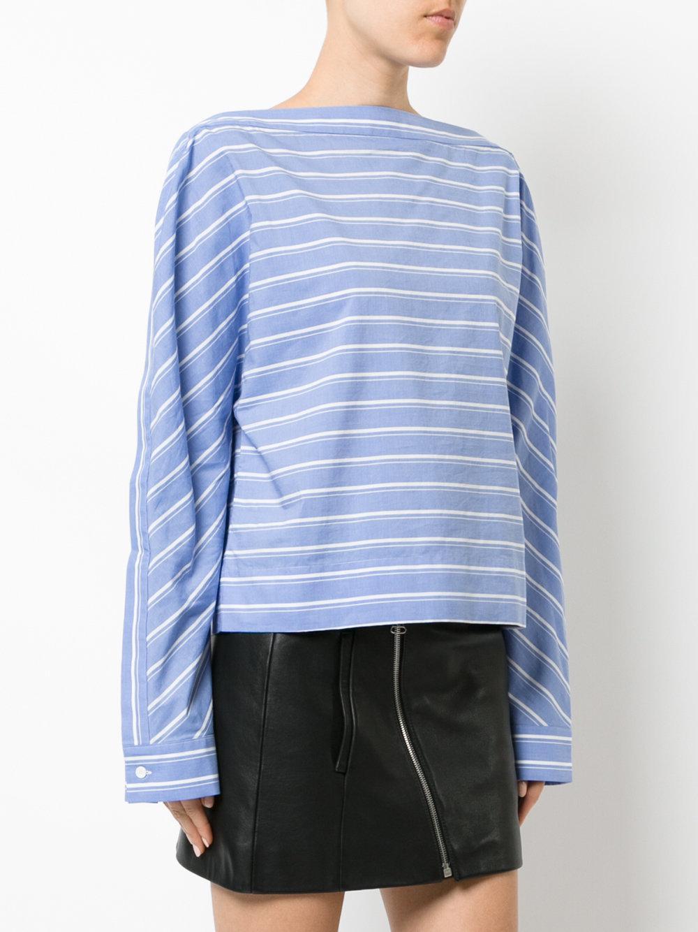 Cheap Sale Finishline Shopping Online For Sale paper towel T-shirt - Blue Dion Lee Discounts For Sale oZUFmuV