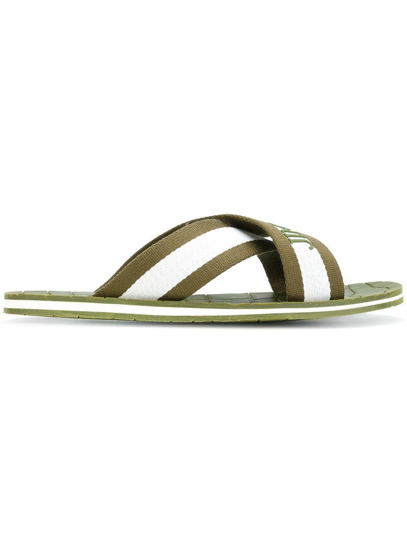 7fcc93b1b2 Gallery. Previously sold at: Farfetch · Men's Leather Flip Flops ...