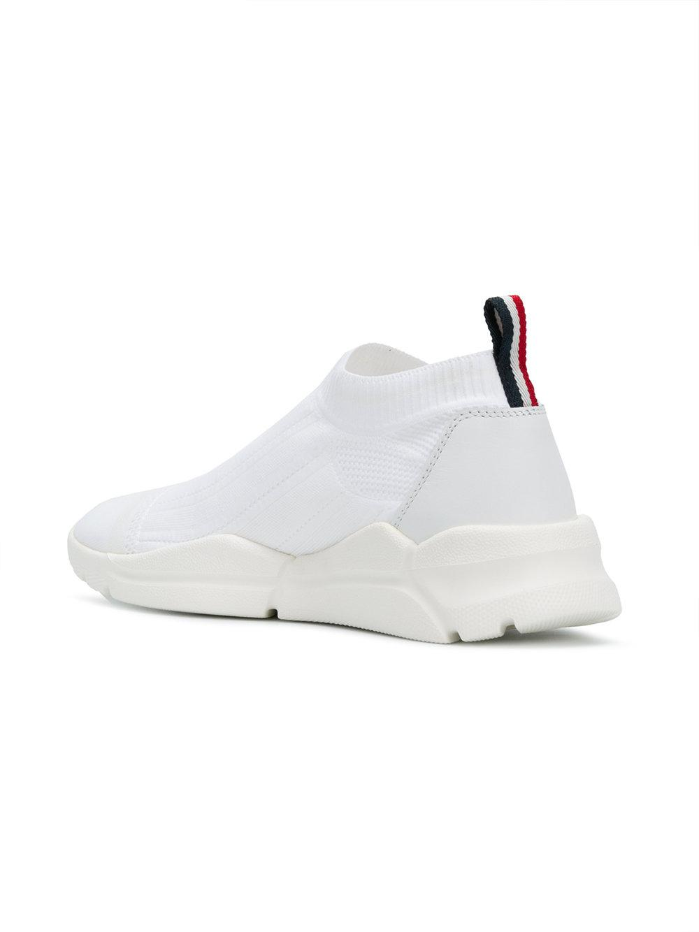 Lyst - Moncler Adon Sneakers in White for Men 4fd8d1494f5