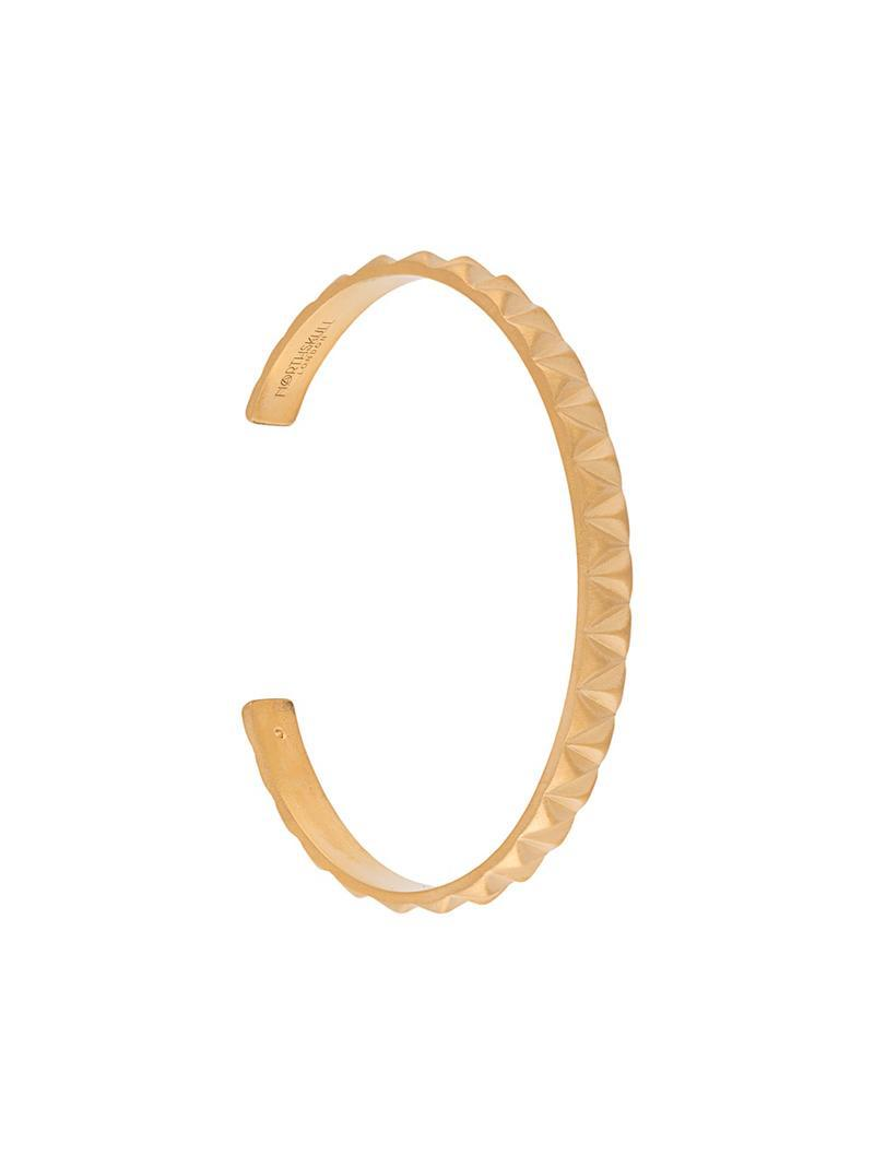 Northskull Upside Down Cuff bracelet - Metallic mSBURN11