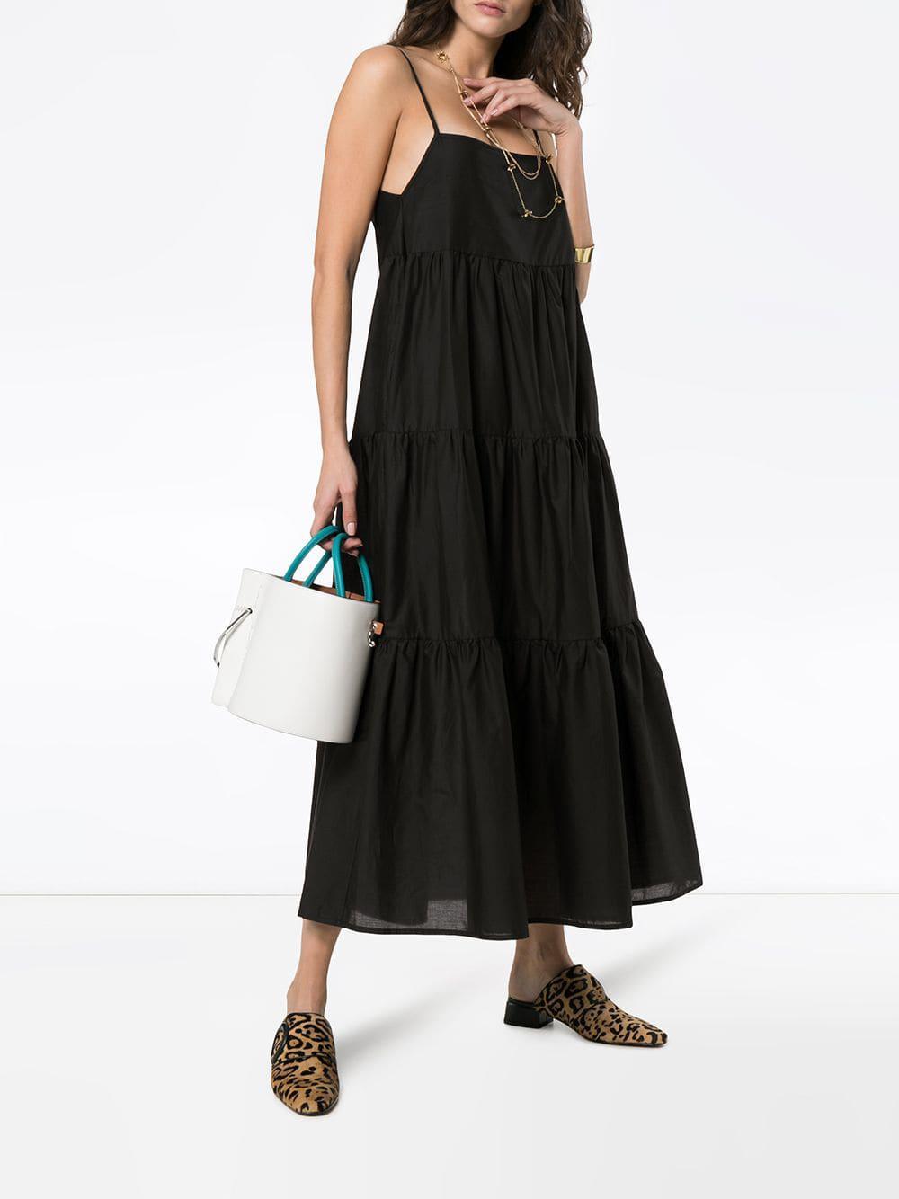 613d1964df0 Matteau - Black The Long Tiered Cotton Sundress - Lyst. View fullscreen