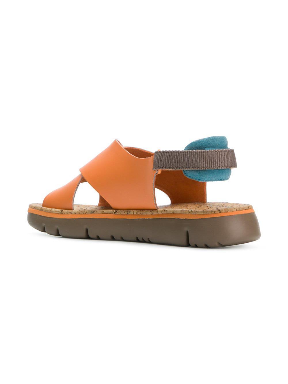 ab2525bd507 Lyst - Camper Oruga Sandals in Yellow